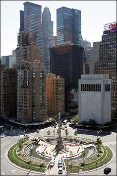 Columbus Circle, NEW YORK CITY.