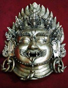 Bhairav Head, hand made