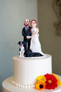 Custom Couple Cake Topper