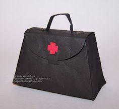 Always Stampin'- Petite Purse Die Doctor's Bag