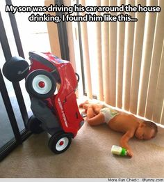 kid drinking and driving