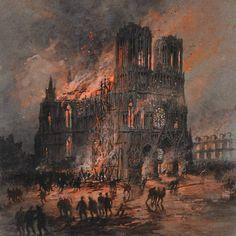 Gustave Fraipont, Incendio della cattedrale di Reims (1914-1915)