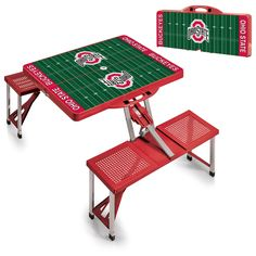 Picnic Table Sport - Ohio State Buckeyes