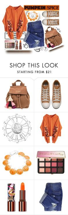 """""""Fall Fashion: Pumpkin Spice"""" by nevergirl-13 ❤ liked on Polyvore featuring The Wolf Gang, Sephora Collection, Teeez, orange, contestentry, fashionset, falloutfit and pumpkinspice"""