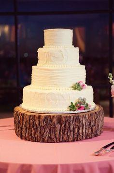 #Rustic_Wedding_Cake