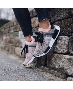 f38380059dc1f Adidas NMD Runner PK Sun Glow Pink Glitch Camo Core Black Clear Onix Sun  Glow Shoes Bb2361