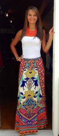 Bahama Mama Skirt // Cooper & Bailey's Boutique // www.cooperandbaileys.com
