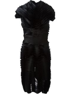 Shop Comme Des Garçons Noir Kei Ninomiya tiered contour dress in RESTIR from the world's best independent boutiques at farfetch.com. Over 1000 designers from 60 boutiques in one website.