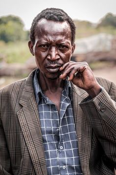 (one of the) men of uganda Photo by Maranie S. -- National Geographic Your Shot
