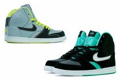 3 Pics of Nike High Tops Shoes
