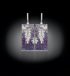 """Refined canvas made of white gold are """"painted"""" by the ability of the master goldsmith. Extremely pure diamonds and rare precious stones are..."""