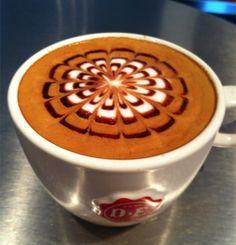 Pattern, latte art