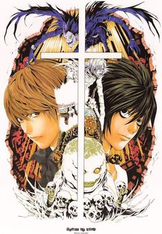 High quality reprint poster for the anime/manga series Death Note. Dimensions are 11 x 17in. NM condition on card stock.