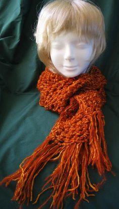 (4) Name: 'Crocheting : Q Hook Scarf