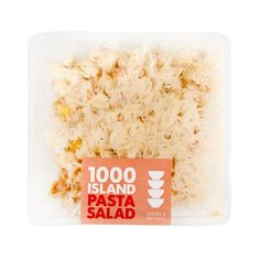 1000 Island Pasta Salad 500g Vegetable Salad, Pasta Salad, Herbs, Sky, Island, Fruit, Vegetables, Food, Crab Pasta Salad