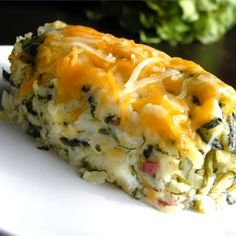 """Sally's Spinach Mashed Potatoes I """"Delicious! My 1 and 3 year olds gobbled it up. I also added crumbled up cooked bacon. I will definitely be making this again."""""""