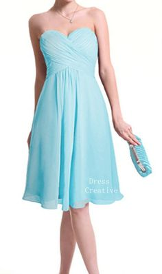 Sweetheart Empire Waist Prom Dress Custom Chiffon by DressCreative