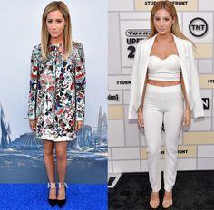 Ashley Tisdale In Alice   Olivia + Olivia & SAFiYAA – 'Tomorrowland' LA Premiere & Turner Network 2015 Upfront