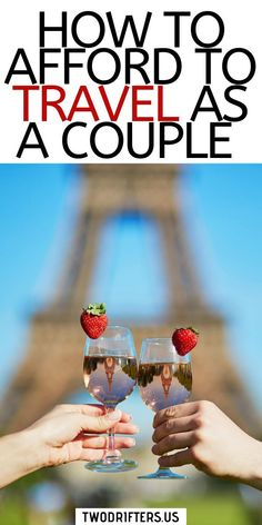 Curious how we afford to travel the world as a couple? A lot goes into it including working online, a tight travel budget, and more. Read on to find out how you can do the same!