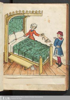 103 [50r] - Ms. germ. qu. 12 - Die sieben weisen Meister - Seite - Mittelalterliche Handschriften - Digitale Sammlungen