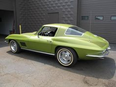 "1967 Corvette in ""Green Apple"" Metalic"