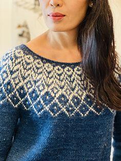 Fair Isle Knitting Patterns, Knit Patterns, Knit Cardigan Pattern, Icelandic Sweaters, Knitting Projects, Ravelry, Knit Crochet, Pullover, Crafts