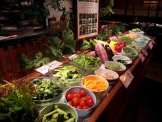 野菜ビュッフェ - Google 検索