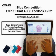 """""""Bagai Sinar Terang di Tengah Kegelapan Peran ASUS EeeBook E202"""" --- Link : http://wp.me/p7Ic6I-a1 (klik bio) --- Blog Competition ASUS E202 by uniekkaswarganti.com (@uniekkas) --- #E202BlogCompetition #Blogger #BlogContest --- Ayolah kuy ikutan sob' @_adityasyahputra :v"""