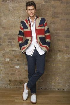 Union Jack Jacket X Design (I find the jacket very catchy)