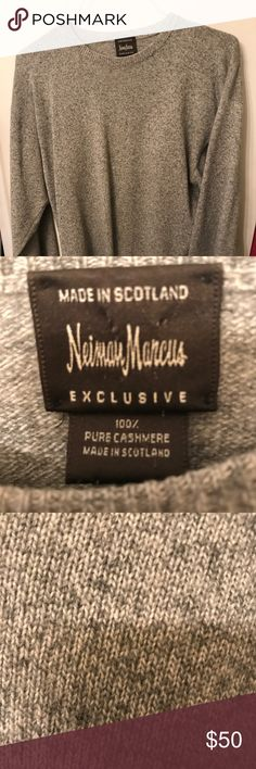 M Lg 100% cashmere sweater from Neiman Marcus. Beautiful cashmere sweater in excellent condition. No rips tears or stains. 100% cashmere flawless. Sweaters Crewneck