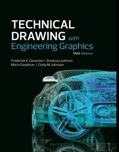 (Get eBook) Technical Drawing with Engineering Graphics by Frederick E. Mechatronics Engineering, Mechanical Engineering Design, Mechanical Design, Electrical Engineering, Open Library, Library Books, Autocad, Reading Online, Books Online
