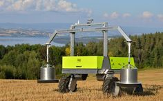 Top Robots for Farmers for 2016 ------ Agricultural fastest growing robotic sector Farming Technology, Technology Gadgets, Science Fiction, Precision Agriculture, Mobile Robot, Robotics Projects, Armored Truck, Future Farms, Aerial Drone