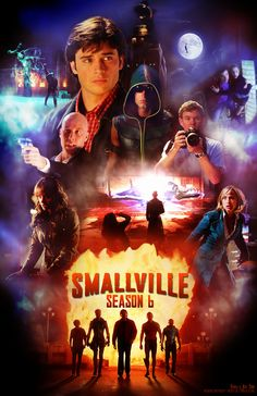 Smallville Season 6 Poster  oh my gosh, this is possibly the BEST Smallville poster I've seen so far! <3 want!   http://erikasartzone.wordpress.com/