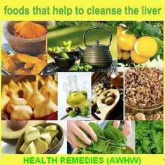 Foods that help to #detox your liver.