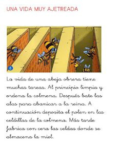 Menta Más Chocolate - RECURSOS y ACTIVIDADES PARA EDUCACIÓN INFANTIL: Libro de las ABEJAS Blended Learning, Spanish Language, This Or That Questions, Chocolate, Honey, Literacy Centers, Human Body Activities, Insects, Schokolade