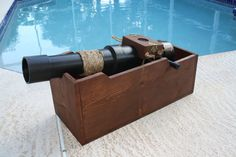 Our days by the pool are behind us for the year. But playing pirate ship with a 2-year-old does sound like quite a bit of fun. That's why [The Stone Donkey] built this pirate cannon prop complete with...