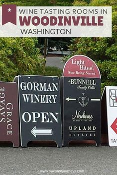 Wine tasting in Woodinville is one of the top things to near Seattle, drawing crowds to more than 100 wineries with tasting rooms in the area. Winery Tasting Room, Wine Tasting, Woodinville Washington, Unique Wine Glasses, Wine Cellar Racks, Need Wine, Personalized Wine Glasses, Wine Guide, Wine Case