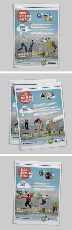 Campaña de gestión de residuos. Ecourense / Concello de Ourense