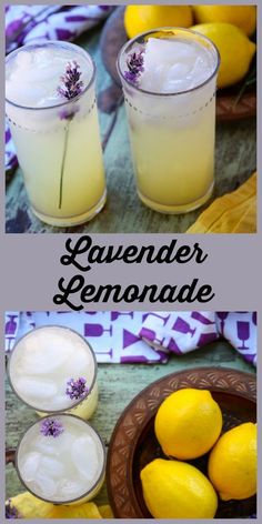 Lavender Lemonade Lavender adds a lovely flavour note to homemade lemonade in this delicious, pretty, and refreshing drink. Refreshing Drinks, Summer Drinks, Fun Drinks, Healthy Drinks, Nutrition Drinks, Healthy Food, Beverages, Healthy Recipes, Non Alcoholic Cocktails