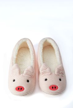 Pig Slippers - NEW ARRIVALS - SHOES - 2000157923 - Forever 21 UK