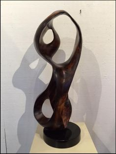 "Steve Turnbull ""Silhouette"" wood abstract sculpture - Lahaina Galleries - visit www.lahainagalleries.com"