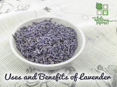 Uses and Benefits of Lavender- many ways to use this beautiful herb