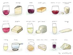 This one, which is so beautiful you'll want to frame it. | 9 Charts That Will Help You Pair Your Cheese And Wine Perfectly