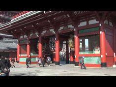 Niezwykły Świat - Japonia - Tokio - Asakusa. Jedna z dzielnic w Tokio.