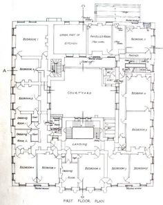 PLANS FOR REDGRAVE HALL we have the other floor elsewhere