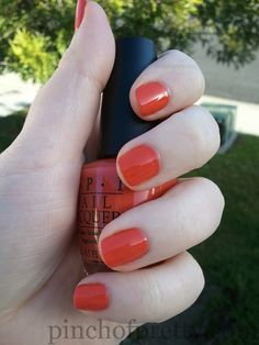 OPI Spiderman Call Me Gwen-Ever