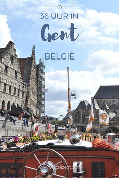 CITY GUIDE // 36 uur in Gent