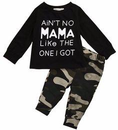 Aint No Mama Like The One I got Baby Boy Outfit