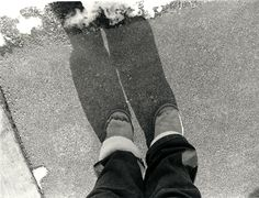 """Self Portrait"" Minneapolis, MN - 2010   * Black and White *  Film *  Deb Carneol Original"