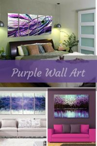 Purple wall decor some of my favorite home wall art decor to look at.  Purple wall art creates a relaxing and mysterious vibe to any space.  Great for Master bedrooms and living rooms.   purple home wall art decor - purple wall art